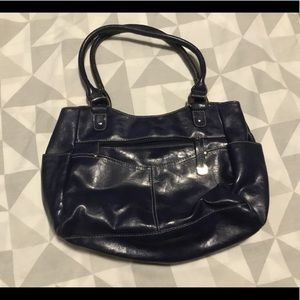 Navy blue Croft and barrow  purse